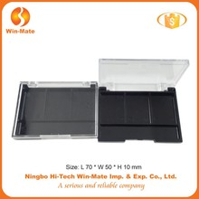 Wholesale!empty foldable plastic palette for eye shadow packaging