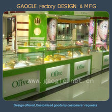 Fashion design retail store furniture for cosmetic display