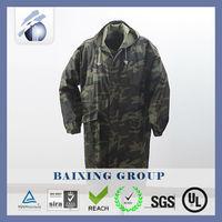 black polyester raincoat raincoat for motorcycle