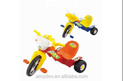 2015 Cheap hot sale colorful plastic baby kids Tricycle / children's baby trike tricycle with back seat philippines for sale