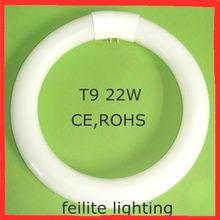 t9 22w lámpara fluorescente circular