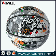 New exercise colorful basketball indoor and outdoor