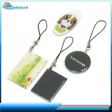 Special offer plastic Card Printing/Epoxy Key Fob Cards, Customized Shapes
