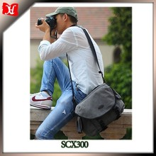 Photography waterproof canvas DSLR camera single shoulder bags