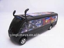 de dibujos animados de fricción juguete del autobús