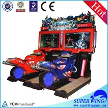 New model amusement racing games two player