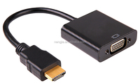 port mini display to HDMI Cable Adapter 1080P audio vga to hdmi converter