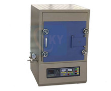 nitrogen atmosphere muffle furnace for sintering / atmosphere protective ceramic sintering furnace for sale