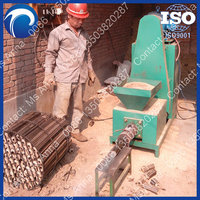 Hot selling wood charcoal briquette press machine