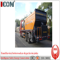 8000L asphalt tank 12CBM Gravel bucket synchronous chip sealer