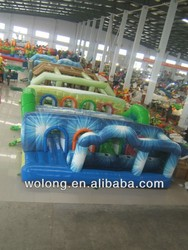 giant inflatable obstacle course, inflatable obstacle