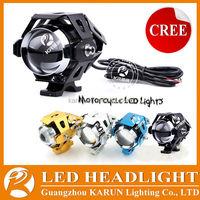 Hot-selling accesorios para moto DC 12-80V Waterproof led motorcycle spotlight U5
