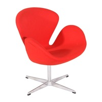 Arne Jacobsen reproduction furniture relax recliner chair Cheap Swan Chair