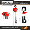 new product manual lifting chain block working