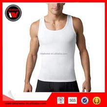 Custom your own logo print organic cotton tank tops wholesale