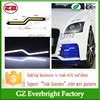 2015 Newest Waterproof Z Type COB LED Daytime Running Light led drl fog light