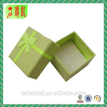 Yellow special paper gift packaging box