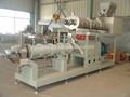 Los peces de cultivo de toma de alimentación de pellets máquina formadora de rollos