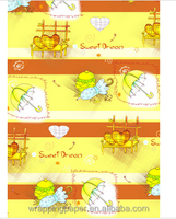 Fancy Cartoon Customized Gift Wrapping Paper Wholesale