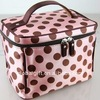 high quality big cosmetic bag with compartments