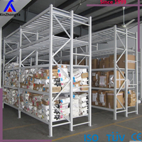 Industrial warehouse metal long span shelving