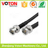 male crimp waterproof bnc compression connector for RG59 coaxial cable