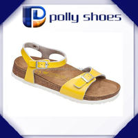 2015 high quality mens arabic leather sandals