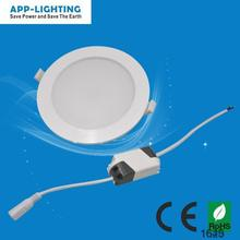 Warm white 2800K 3W small led panel light round for cut hole size 70mm