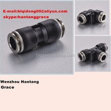 union plastic push fitting,one touch pneumatic fittings,fittings