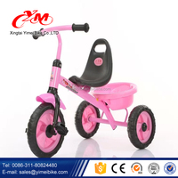 Selling best China cheap price drawing tricycle for children/push baby tricycle/3 wheel kid tricycle tuk tuk for sale
