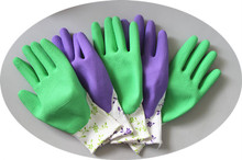 Latex Palm Coated Warm Thermal Grip Work Gloves