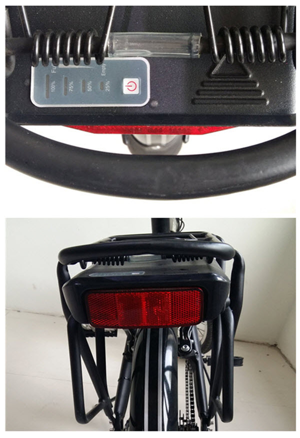 Cool Moped Cheap 2 Wheel Motorized Electric Power Bicycle