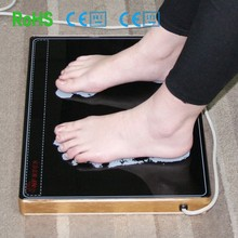 2015 hot sale Far infrared electric feet heating pad for healthy and sweet sleeping