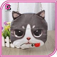 2015 Newest Cartoon 3D Leisure Animal Pattern Chain Coin Bag Sling Bag
