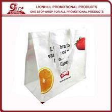 popular custom laminated pp plastic shopping bag
