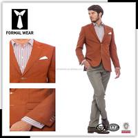 High Quality 2015 New Men Suits Custom fit Fashion Only Custom slim fit blazer