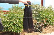 Natural Unprocessed Raw Hair, No Tangle No Shed Natural Color Hair Extensions India Hair International