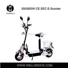 500w 800w1000w EVO cheap folding electric scooters with EEC