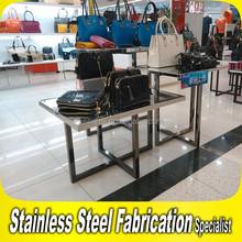 Keenhai Custom-Made Stainless Steel Metal Hangbag Display Rack for Shops