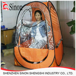 outdoor personal pop up sports spray tan cold weather tents