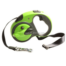 Night Walker Retractable Dog Leash with light