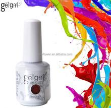 Gelgirl easy soak off 300 color gel polish,gel nail paint