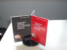 new style acrylic pamphlet holders