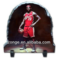 Personalized NBA Rock Slate for Sublimation