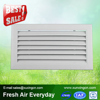 High quality fixed type return air aluminum louver air grille