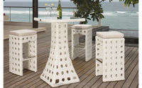 Hot sale Outdoor All Weather cheap party tables and chairs for sale