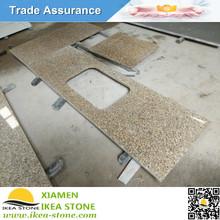 Cheap Price Tiger Skin Yellow Granite Countertop/Bar Top