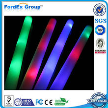 2015 Best Selling Multi-color Glow up Led Foam Glow Stick