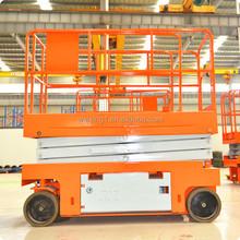 Autopropulsado mobile tijera hidráulica de elevación equipo de mesa