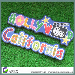 promotion gift rubber 3d pvc magnet Type Fridge Magnet